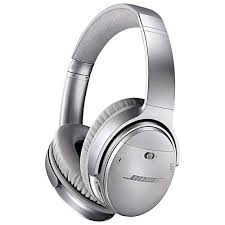 bose quietcomfort 35 wireless headphones. bose quietcomfort 35 over-ear noise cancelling wireless headphones - silver quietcomfort o