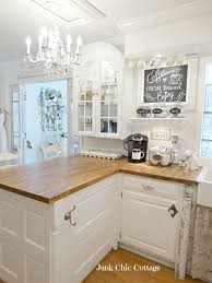cottage kitchen furniture. hutch top used as a kitchen cabinet junk chic cottage side road re loved furniture