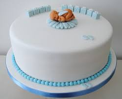 Miss Cupcakes Blog Archive Blue Baby Shower Cake