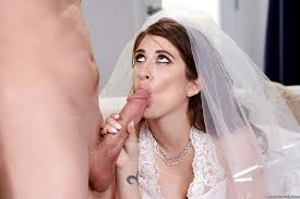 Bride sex photo blowjob