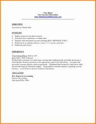 Bank Teller Cover Letter 4 Experience Job Resumed Sample Resume
