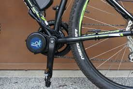 velocity 01 mid drive ebike conversion kit on a merida bignine 20 mountain bike