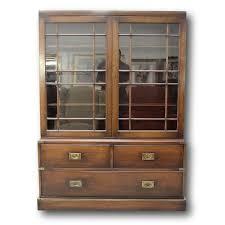 2 pc glass door bookcase 80967a jpg