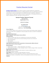 10 Word Format Resume Job Apply Form