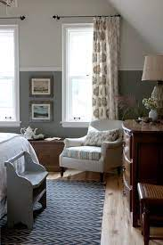 split your colors with two toned walls