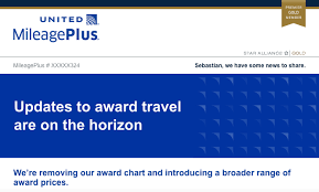 United Mileage Award Chart Award Massacre United Mileage Plus Is Changing To Flexible