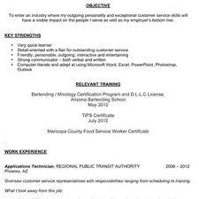 100 Bartender Resume Examples 37 Medical Secretary Resume