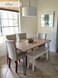 West Elm Kitchen Table Inside Out Design Our Kitchen Table And Breakfast Nook Is
