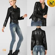 fitted leather moto jacket cw650036 cwmalls com