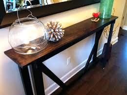 Foyer Diy Entry Table Rustic Bench Turned Into An Entry Table Diy Entry Table Plans Choxico Diy Entry Table Choxico