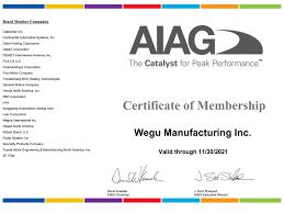 certifications archives wegu manufacturing wegu manufacturing aiag sponsored member