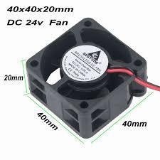 <b>Gdstime 1 pcs</b> 1.57 inch Small Axial Fan 24V Ball Bearing 40mm x ...