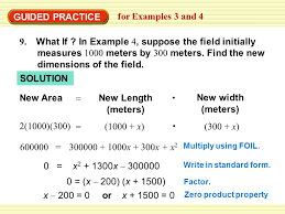guided practice for examples 3 and 4 9 what if