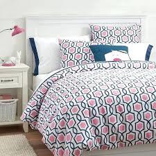 hot pink satin duvet cover trellis twist duvet cover sham bright pink royal navy pbteen hot