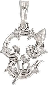 tamil om aum pendant embelished with