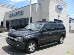 2003 Dark Gray Metallic Chevrolet TrailBlazer EXT LT 4x4 #13675771 ...