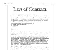 law essays professional essay writing site write my papers request  the main requirements of a simple legal binding contract law of document image preview