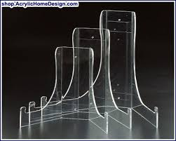 Lucite Plate Display Stands Enchanting Acrylic Giant And Deep Bowl Stand 32323232