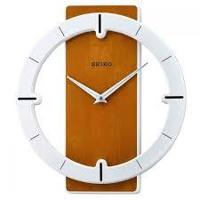 gw thomson seiko wooden wall clock