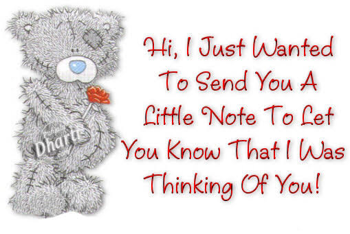 thinking of you sms