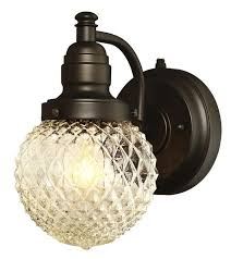 eddystone one light outdoor wall fixture with dusk to dawn sensor