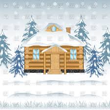 Image result for winter cabin clipart