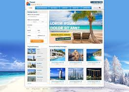 Travel Templates Travel Website Template Free Travel Agency Website Templates