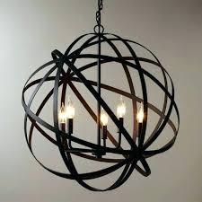 metal orb chandelier fantastic large industrial style and metals world market pendant light lighting lamp industr