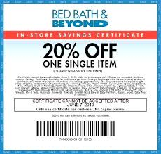 Current Bed Bath Beyond Coupon Bed Bath Beyond Printable Coupon Chap  Example Of Consumer Oriented Sales . Current Bed Bath Beyond ...