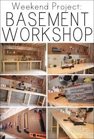 Basement Design Tool Adorable Weekend Project Basement Workshop DIY Your Home Pinterest