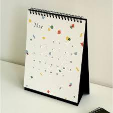 standup desk calendars 2019 cute illustration stand up desk calendar