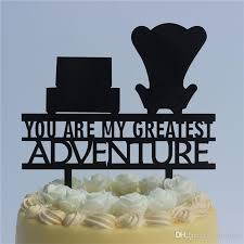2019 Romantic Wedding Anniversary Cake Toppers Up You Are My
