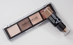 dare to pare make up for ever pro sculpting face palette in 20 light vs maybelline facestudio master contour highlight v shape duo stick in light