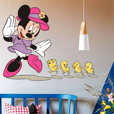 3d mickey mouse clubhouse wall stickers kids bedroom decor