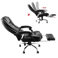 Office reclining chair Zero Gravity Pinterest Best Reclining Office Chairs With Footrest In 2019
