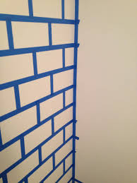 Small Picture DIY Painted Brick Wall The Glamorous Project