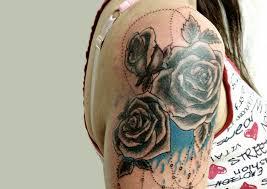 Tetování Na Rameno Dámy Tattoo Eklipse