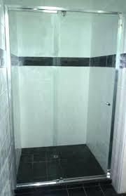 semi frameless shower semi shower screens in supply installation semi frameless shower door installation cost