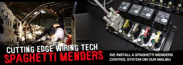 inside spaghetti menders wiring systems technology street muscle building and selling turn key cutting edge simple wiring systems for race cars his company is d most appropriately spaghetti menders