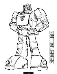 Small Picture Transformers Bumblebee Coloring Pages Printable birthday ideas