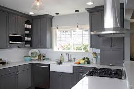 Kitchen Fun with Storm Gray transitional-kitchen