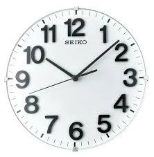 seiko silent sweep wall clock seiko silent sweep wall clock uk medium image for wonderful seiko