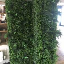 fire ant artificial green wall hedge panel mixed plants 100cm x 100cm