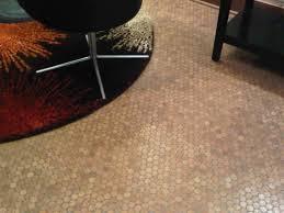 image of cork flooring tiles plan