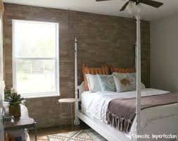 airstone accent wall faux stone wall