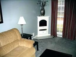 small corner electric fireplace fireplaces heater black fi