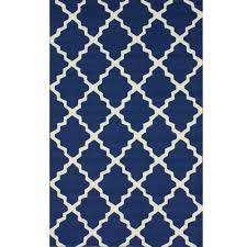 full size of ont navy outdoor rug very attractive blue trellis x nuloom and white