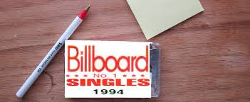 This list has also been compared to the results for north america and europe.there is also a set of monthly tables showing the various number ones on any date during. 1994 The Definitive Year Of The 90s Billboard Chart Rewind