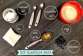 diy glamglow face mask