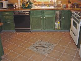 Rustic Kitchen Floors Artistic Details On Kitchen Floor Tile For Rustic Kitchen With
